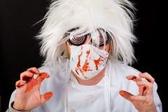 Cirujano sangriento Fotografía de archivo libre de regalías