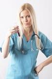 Cirurgião bonito fotografia de stock royalty free
