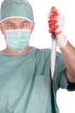 Cirurgião do assassino Foto de Stock