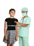 Cirurgião e paciente Imagem de Stock Royalty Free
