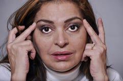 Cirurgia cosmética imagem de stock