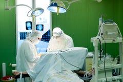 Cirurgia de cérebro fotografia de stock royalty free