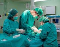 Cirurgia do hospital imagens de stock