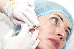 Cirurgia estética Imagem de Stock