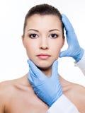 Cirurgia plástica Fotografia de Stock Royalty Free