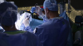 Cirurgia robótico Robô médico video estoque