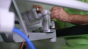 Cirurgia robótico Robô médico vídeos de arquivo