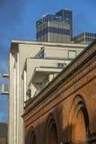 CIS Tower, de stadscentrum van Manchester, Engeland Stock Afbeeldingen