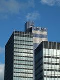 The CIS tower in manchester an office skyscraper built in 1962 as the headquarters of the co-operative banking group. Manchester, England - 12 september 2018 royalty free stock photos