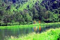 Cisanti lake stock photo