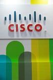 Cisco徽标 库存图片