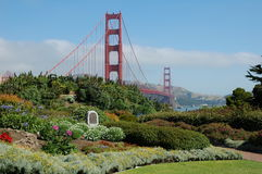 Cisco. Golden gate bridge on a glorious day Royalty Free Stock Image