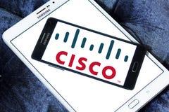 Cisco logo Fotografia Royalty Free
