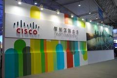 Cisco-Zeichen Stockbild