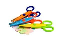 Ciseaux colorés Images stock