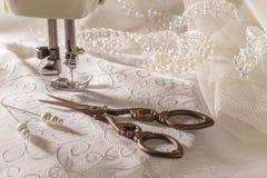 Ciseaux de couture Image stock
