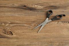 Ciseaux de découpage de cheveu Image libre de droits