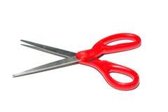 Ciseaux rouges Image libre de droits
