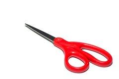Ciseaux rouges Photographie stock libre de droits