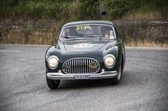 CISITALIA 202 B berlinetta Pinin Farina 1950. Mille miglia 2015 italy history vintage car retro Stock Images