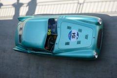 1947 Cisitalia 202 B Berlinetta Pininfarina at the Mille Miglia. Monza circuit hosted a stage of the 2016 Mille Miglia Stock Photo