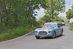 Cisitalia 202 SC berlinetta Pinin Farina (1948)在Mille Miglia 库存照片