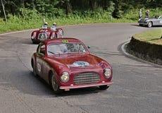Cisitalia 202 SC Berlinetta Pininfarina (1949) in Mille Miglia 2 Stock Photos