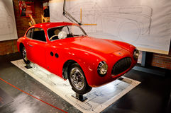 Cisitalia Umb. 202 bei Museo Nazionale dell'Automobile Lizenzfreies Stockfoto