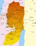 Cisjordania stock de ilustración
