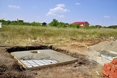 Ciskać betonowe podłoga Zdjęcie Royalty Free