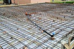 Ciskać betonowe podłoga Zdjęcia Stock