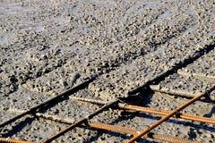 Ciskać betonowe podłoga Obrazy Royalty Free