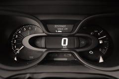 Ciska deskę nowy samochód, zero km Zdjęcia Stock