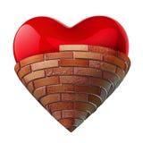 Ściskanie serce Fotografia Stock