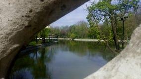 The Cismigiu Garden in Bucharest, Romania. Royalty Free Stock Photo