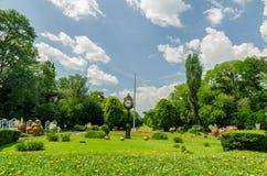 The Cismigiu Gardens Stock Photography