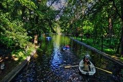 Cismigiu Gardens Stock Photo