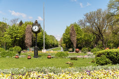 The Cismigiu Gardens (Parcul Cismigiu) In Bucharest Royalty Free Stock Photos