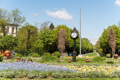 The Cismigiu Gardens (Parcul Cismigiu) In Bucharest Royalty Free Stock Photo