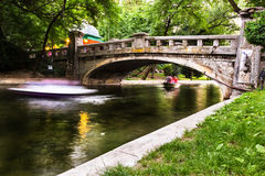 Cismigiu Park in Bucharest Royalty Free Stock Photography