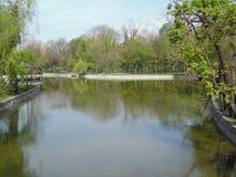 Cismigiu Park in Bucharest, Romania. Stock Photography