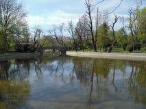 Cismigiu Park in Bucharest, Romania. Stock Image
