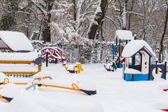 Cismigiu park - playground Stock Image