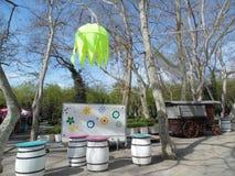 Cismigiu Park in spring season. Stock Photo