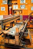 cisnadie博物馆纺织品 图库摄影