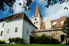 Cisnadie fortified church in Romania Stock Photos