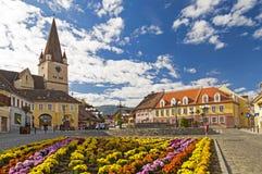 Cisnadie, Rumänien Stockfoto