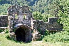 Cisnadioara cytadela, Rumunia Obrazy Royalty Free