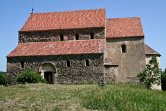 Cisnadioara Fortified Church, Transylvania, Romania Stock Photography
