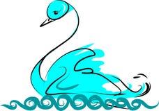 Cisne Ilustração Royalty Free